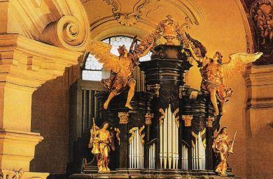 Органный концерт с оркестром Camerata Pragensis