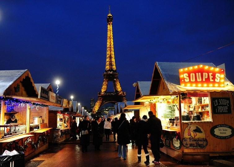 Новогодняя экскурсия в Париж (3 дня)