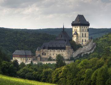 Замок Орлик и крепость Карлштейн с обедом