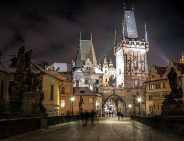Вечерняя Прага (ноябрь-март)